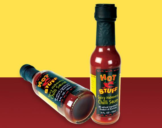 Chilli Sauce Label Design