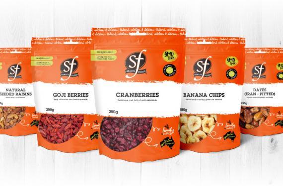 Package Design Brand Range