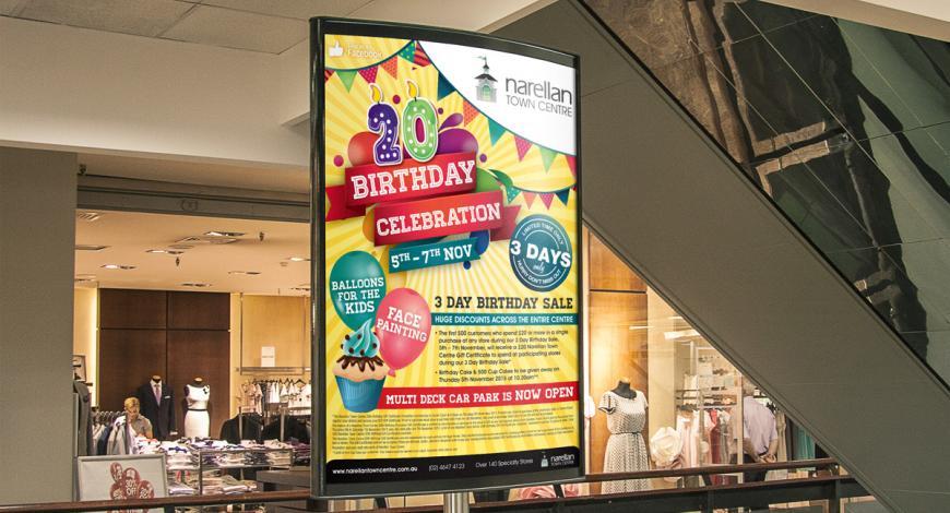 Narellan Town Centre Poster