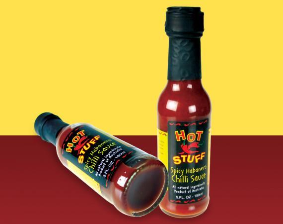 Chilli Sauce Label Design