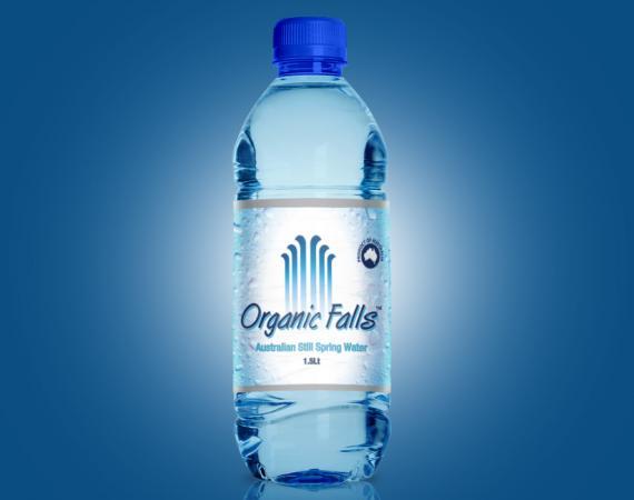 Water Label Design